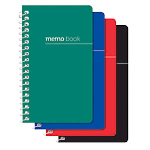 Office Depot Brand Wirebound Side-Opening Memo Books, 3in x 5in, College Ruled, 60 - Pack Of 3 MAIN