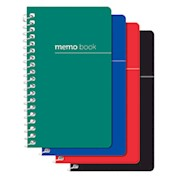 Office Depot Brand Wirebound Side-Opening Memo Books, 3in x 5in, College Ruled, 60 - Pack Of 3 THUMBNAIL