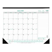 Brownline EcoLogix Monthly Desk Pad Calendar, 22in x 17in, 100% Recycled, Ecological - 1 Each THUMBNAIL