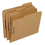 Pendaflex Kraft Rec Classification Folders With Fasteners, Letter Size - Box Of 50 THUMBNAIL