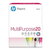 HP Multi-Use Paper, Letter Size (8 1/2in x 11in), 20 Lb, Ultra White, Ream Of 500 THUMBNAIL