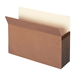 Smead Expanding File Pockets, 5 1/4in Expansion, 9 1/2in x 14 3/4in, 30% Recycled - Box Of 10 MAIN