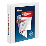 Avery Heavy-Duty View Binder, With Locking One-Touch EZD Rings, 8 1/2in x 11in, 1 - 1 Each THUMBNAIL