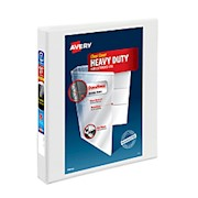Avery Heavy-Duty View Binder, With Locking One-Touch EZD Rings, 8 1/2in x 11in, 1in - 1 Each THUMBNAIL