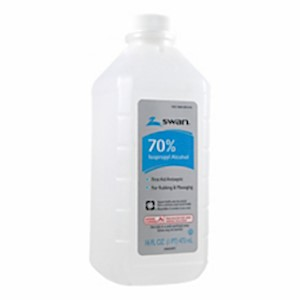 Swan 70% Rubbing Alcohol, 16 Oz - 1 Each MAIN