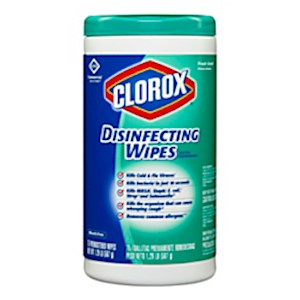 Clorox Disinfecting Wipes, Fresh Scent, Pack Of 75 Wipes - 1 Each MAIN