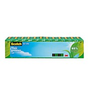 Scotch Magic Greener Invisible Tape, 3/4in x 900in - Pack Of 12 Rolls THUMBNAIL