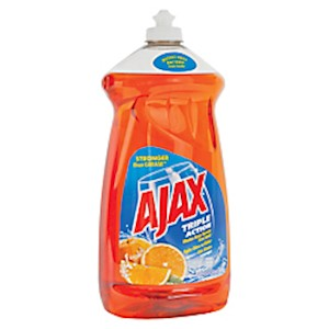 Ajax Triple-Action Dishwashing Liquid, 52 Oz, Orange - 1 Each MAIN