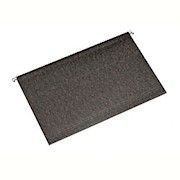 SKILCRAFT Hanging File Folders, 1/3 Tab Cut, Legal Size, 30% Recycled, Dark Green - Box Of 25 THUMBNAIL