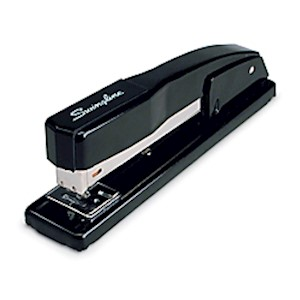 Swingline 444 Commercial Desk Stapler, Black - 1 Each MAIN