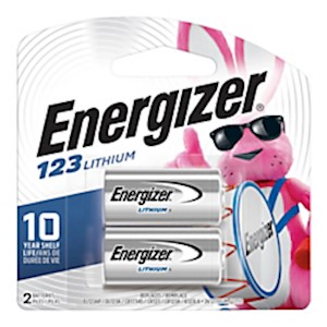 Energizer 123 3-Volt Photo Lithium Batteries - Pack Of 2 MAIN