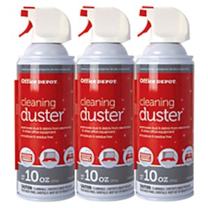 Office Depot Brand Cleaning Dusters, 10 Oz. - Pack Of 3 MAIN