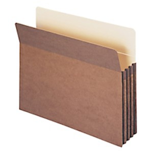 Smead Expanding File Pockets, 3 1/2in Expansion, 9 1/2in x 11 3/4in, 30% Recycled - Box Of 25 MAIN