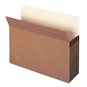 Smead Expanding File Pockets, 5 1/4in Expansion, 9 1/2in x 11 3/4in, 30% Recycled - Box Of 10 MAIN