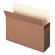 Smead Expanding File Pockets, 5 1/4in Expansion, 9 1/2in x 11 3/4in, 30% Recycled - Box Of 10 THUMBNAIL