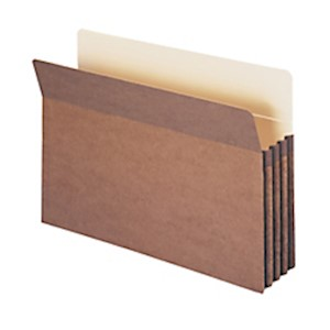 Smead Expanding File Pockets, 3 1/2in Expansion, 9 1/2in x 14 3/4in, 30% Recycled - Box Of 25 MAIN