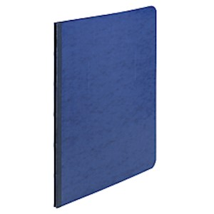 ACCO Pressboard Report Cover With Fastener, Side Bound, 8 1/2in x 11in, 60% Recycled - 1 Each MAIN