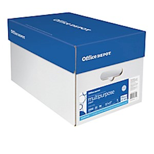 Office Depot Multi-Use Paper, Ledger Size (11in x 17in), 96 (U.S.) Brightness, 20 - Case Of 5 MAIN