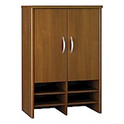Bush Business Furniture Components Hutch 30inW, Warm Oak, Standard Delivery - 1 Each THUMBNAIL