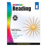 Carson-Dellosa Spectrum Reading Workbook, Kindergarten - 1 Each THUMBNAIL