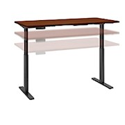Bush Business Furniture Move 60 Series 72inW x 30inD Height Adjustable - 1 Each THUMBNAIL