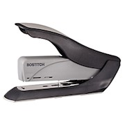 Bostitch Spring-Powered Heavy Duty Stapler, 60-Sheet Capacity, Black/Silver - 1 Each THUMBNAIL