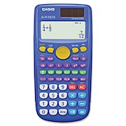 Casio FX-55 Plus Fraction Calculator - Hard Shell Cover - 12 Digits - Dot - 1 Each THUMBNAIL