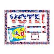 Barker Creek Classroom Decor Set, USA - Set Of 360 THUMBNAIL