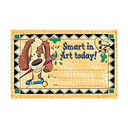 Barker Creek Blank Award Certificates, Smart In Art, 8 1/2in x 5 1/2in - Pack Of 30 THUMBNAIL