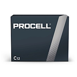 Duracell Procell PC-1400 Alkaline General Purpose C Batteries, Pack Of 12 - Box Of 12 MAIN