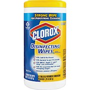 Clorox Disinfecting Wipes, Lemon Fresh Scent, Pack Of 75 Wipes - 1 Each THUMBNAIL