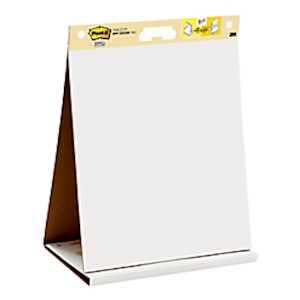 Post-it Notes Super Sticky Dry-Erase Tabletop Easel Pad, 20in x 23in, Pad Of 20 Sheets MAIN