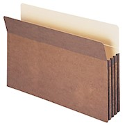 Smead Expanding File Pockets, 3 1/2in Expansion, 9 1/2in x 14 3/4in, 30% Recycled - 1 Each THUMBNAIL