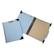 SKILCRAFT Hanging File Folders With 4-Section Fastener, 1in Capacity, Letter Size - Box Of 10 THUMBNAIL