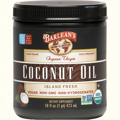 ORGANIC VIRGIN COCONUT OIL LARGE