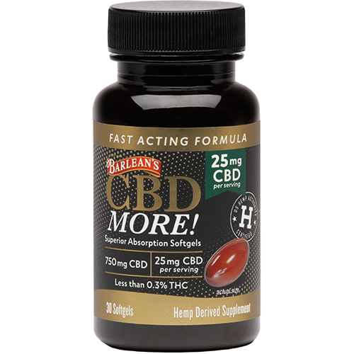 CBD MORE! SOFTGELS 25MG CBD LARGE