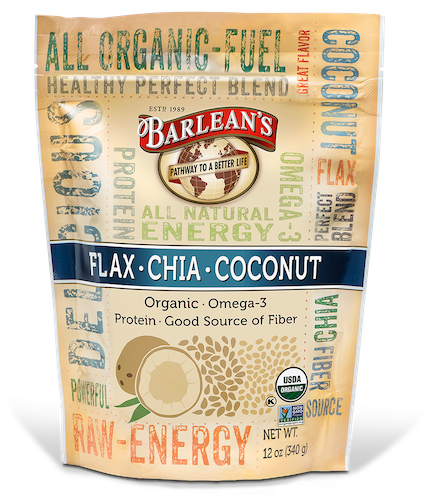 ORGANIC FLAX·CHIA·COCONUT SEED BLEND LARGE