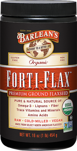 ORGANIC FORTI-FLAX™ FLAXSEED (CANISTER) LARGE