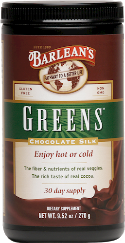 CHOCOLATE SILK  GREENS™ POWDER LARGE