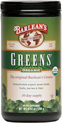 ORGANIC GREENS™ POWDER - NATURAL FLAVOR THUMBNAIL