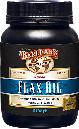 LIGNAN FLAX OIL SOFTGELS LARGE