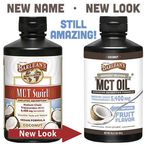 SERIOUSLY DELICIOUS® MCT - COCONUT LARGE