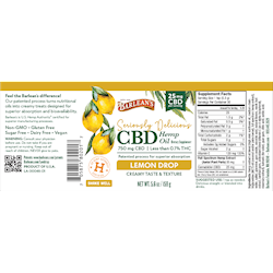 SERIOUSLY DELICIOUS® CBD LEMON DROP 25MG SWATCH