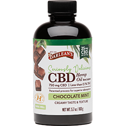 SERIOUSLY DELICIOUS® CBD CHOCOLATE MINT 25MG THUMBNAIL