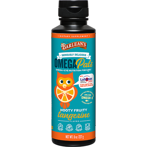 OMEGA PALS HOOTY FRUITY TANGERINE FISH OIL + EYE NUTRITION LARGE