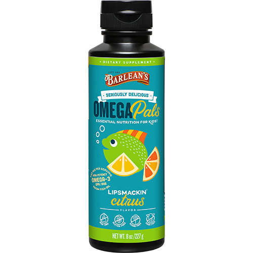 OMEGA PALS LIPSMACKIN' CITRUS HIGH POTENCY FISH OIL LARGE