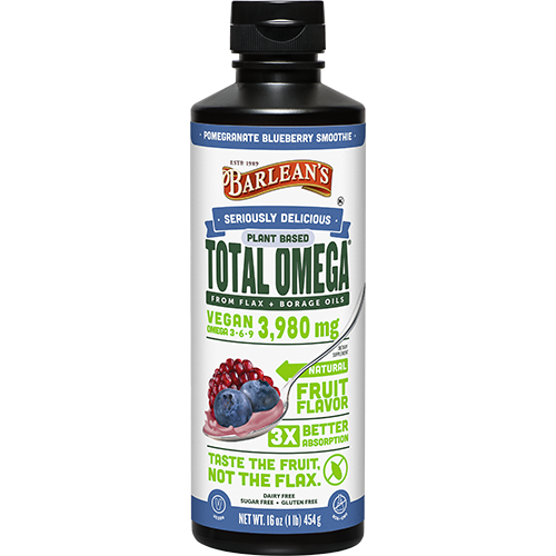 SERIOUSLY DELICIOUS™ TOTAL OMEGA® VEGAN POMEGRANATE BLUEBERRY SMOOTHIE LARGE