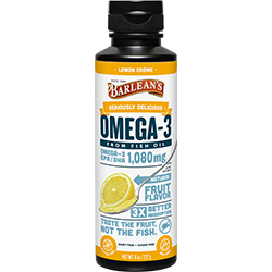 SERIOUSLY DELICIOUS® OMEGA-3 FISH OIL LEMON CRÈME THUMBNAIL