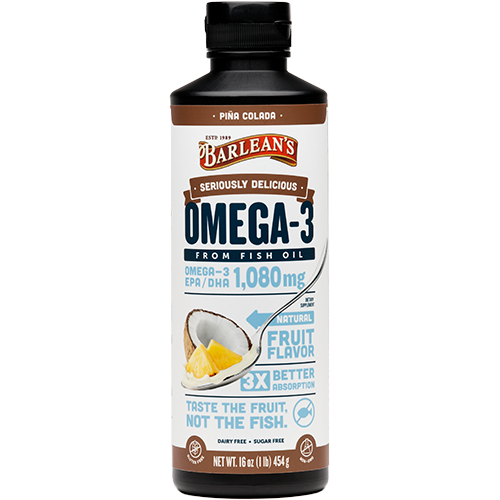 SERIOUSLY DELICIOUS™ OMEGA-3 FISH OIL PIÑA COLADA LARGE