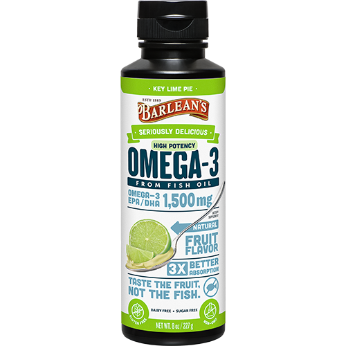 SERIOUSLY DELICIOUS™ OMEGA-3 HIGH POTENCY FISH OIL KEY LIME PIE LARGE